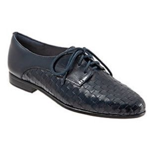 Trotters Lizzie Woven Oxfords